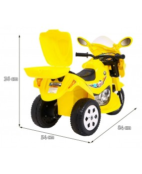 Elektrická motorka BJX 088 žltá